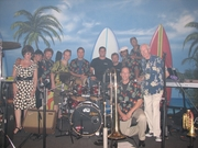 w/GARY RACAN'S STUDIO E  BAND IN TAMPA - 2008 - That is Nelson Harrison beside me