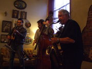 Don Aliquo Sr. and friends @ The Gypsy Cafe in June 2009.