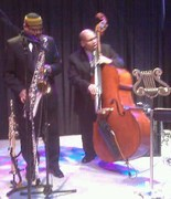 Willie Morales on bass and myself on tenor