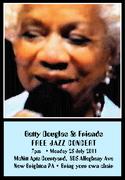 Betty Douglas Sings