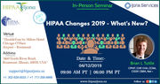HIPAA Changes 2019 - What's New?