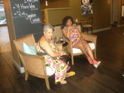Ladies Chilling @ Whiskey Room