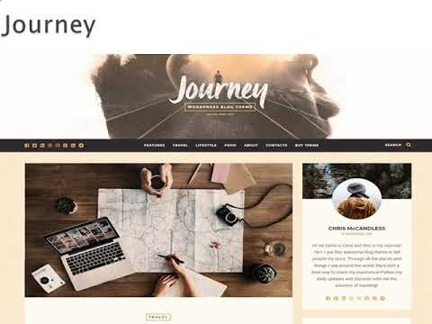 Best Wordpress Themes for Travel Blogs - Wp Web Themes