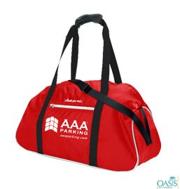 Red and Black Multipurpose AAA Sports Bag