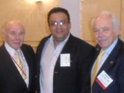 Con 2  grandes profesores de la diabetes, Mimi 2011