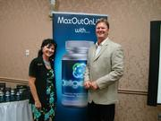 Bruce Mathison and Me at Wellness tour