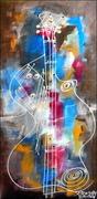 Jazz Ghost Guitar Player