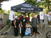 Pro Riders at Black Flys Parkin Lot Sale June 2012