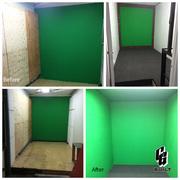 CG Built Green Screen Rooms