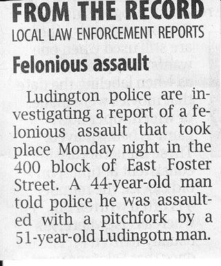 The Ludington Pitchfork