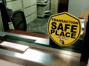 Sheriff's office lobby open for safe transactions