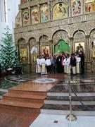 In colinda la Prea Sfintia Sa, in Catedrala Invierea Domnului