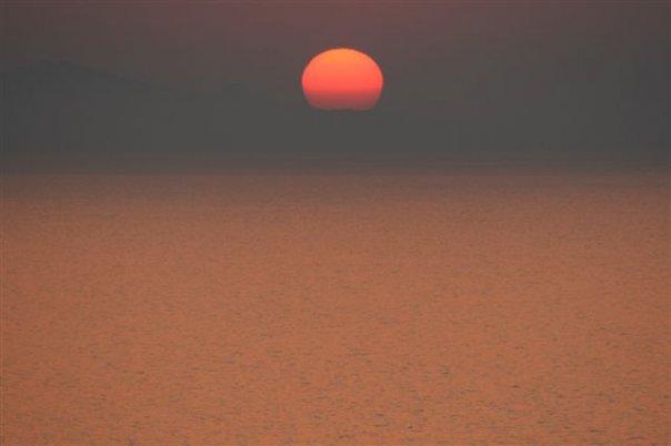 Pôr do Sol na Sardenha
