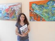"""Exposição de pintura de Glória Costa """"Pedaços de mim"""""""