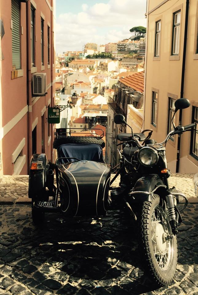 Lisboa Bike my Side Sidecar Tours