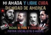 FIDEL , MACEO , MARTI , CHE GUEVARA