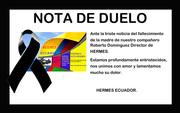 NOTA DE  DUELO