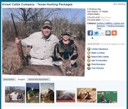 Kinsel Cattle Company - Whitetail and Exotics in South Texas