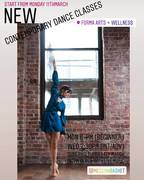 Contemporary Dance Classes (Beginner and Intermediate/Advanced)