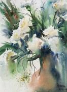 Nine carnations - I