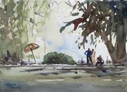 Plein Air @ Bangalore University 31 Mar 14