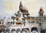 Plein Air @ Mysore Palace 30 Mar 14