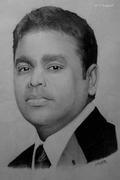 A.R. Rahman Pencil Portrait