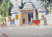 Plein Air at Dharma Vihar