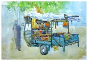 A Mobile grocery store