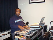 Me DJ at a Baby Shower
