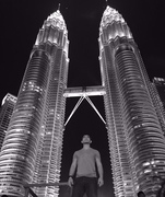 A statue in front KLCC?