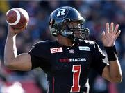 ottawa-redblacks-quarterback-henry-burris-throws-against-the