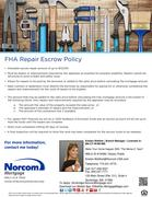 FHA Repair Escrow Policies