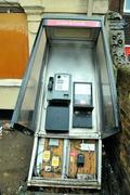Damaged phone kiosk 1