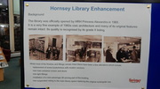 Hornsey Library Proposals Display December 2017