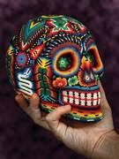 decorated-skull-mexico
