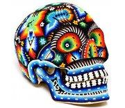day-of-the-dead-decor-huichole-skull