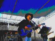 Jordan performing at the Pardon Johnny Cash Festival!