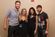Katlyn Lowe with Lady Antebellum