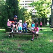 The Snares Fan Club in Centennial Park Nashville, Tn!