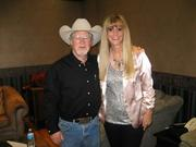 LYNN EASTERLY With GERALD SMITH Back Stage At The Country Tonite Theater Pigeon Forge Tn