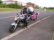 Elainee Presley SV650 Motorbike
