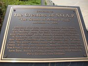 The Soap Monument on the boardwalk in Asbury Park new jersey