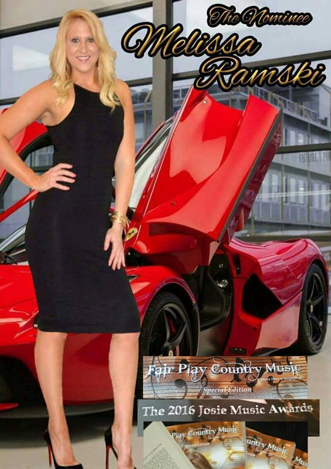 Melissa Ramski in special edition of Fair Play Country Music Magazine