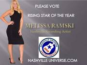 VOTE MELISSA RAMSKI RISING STAR OF THE YEAR