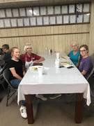 23167846_10156479894624240_443017384686703519_n.jpg Debra Miears - Hailee - Hanah - Me at Eastern Star Chicken Speghetti Dinner - Winnsboro Masonic Lodge 2017