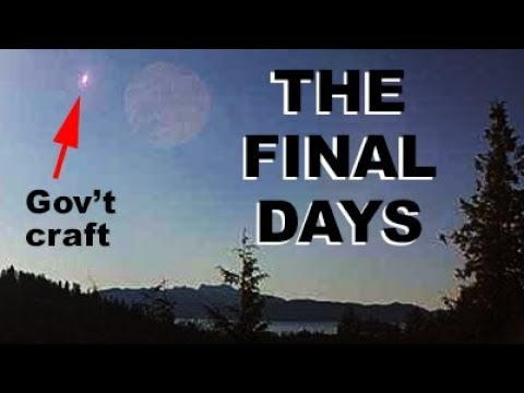 The final days. $Trillions spent to hide inbound planetary system, mass deception. 3/13/2019