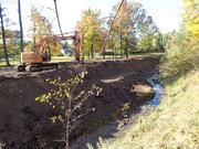 Healey Creek Restoration Underway