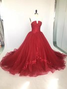 Burgundy Matric Dance Dress