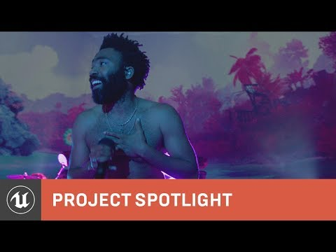 Childish Gambino mesmerizes fans with real-time animation